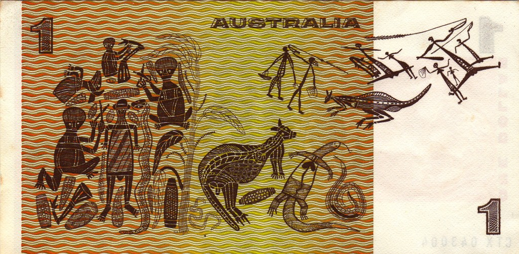 Australian Currency - $1 b