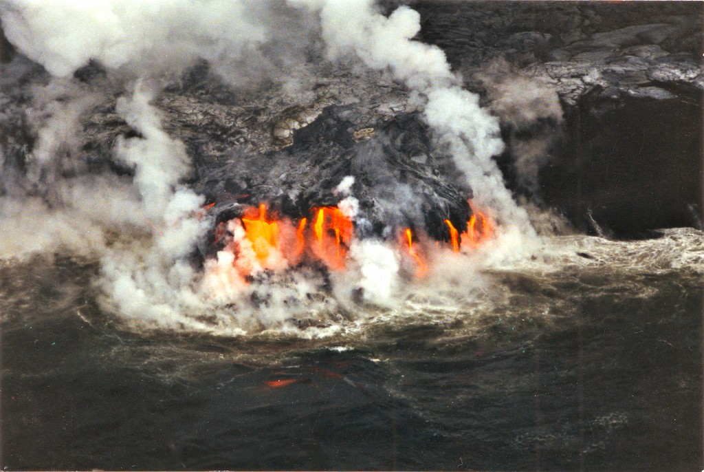 1996 Hawaii Lava flow 01