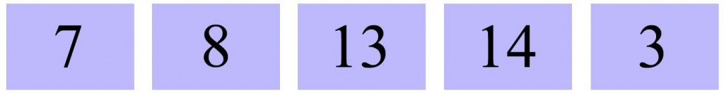 Number envelopes