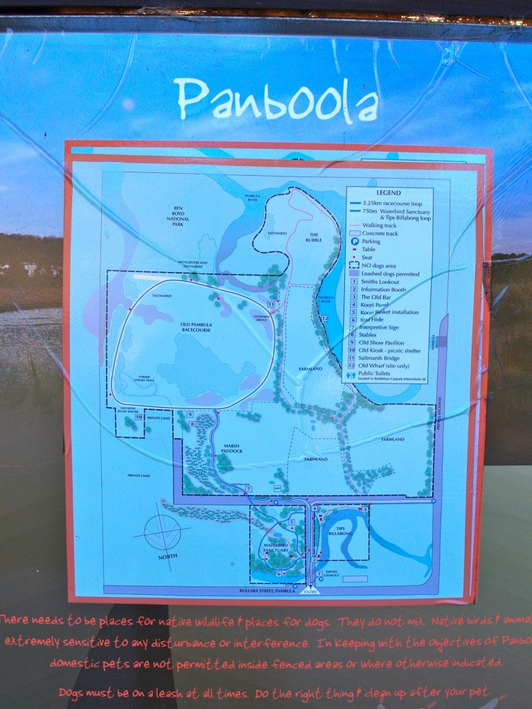 This is a map on display in the reserve and is not my work.