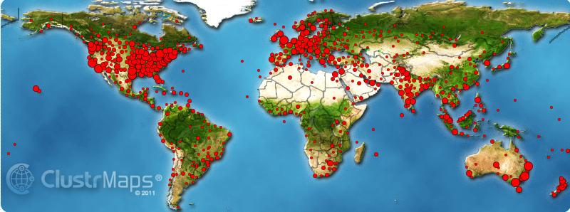 Clustr Map 2012-2014
